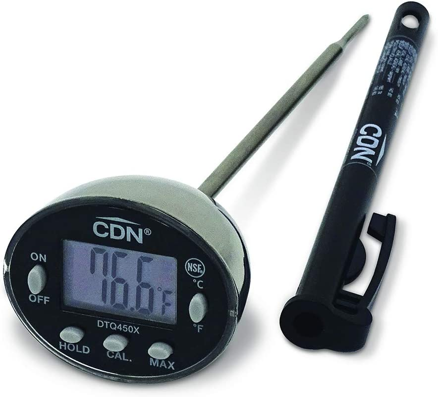 CDN DTQ450X Thin Tip Thermometer: Meat Thermometers: Kitchen & Dining