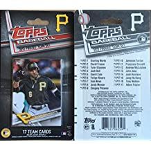 2017 Topps Factory, Heritage, & Opening Day Pittsburgh Pirates 3 Team Set Lot Gift Pack 35 Cards Total Andrew McCutchen Josh Bell Gerrit Cole Tyler Glasnow