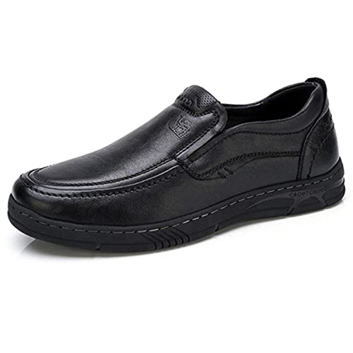 Amazon.com | Destjoy Boots Men Shoes Male Formal Business Loafers Mens Leather Casual Shoes Zapatos Mocasin Hombre | Loafers & Slip-Ons
