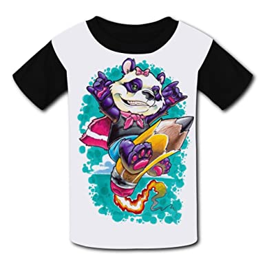 amazon com colorful panda casual shirts kids 3d printed t shirt for