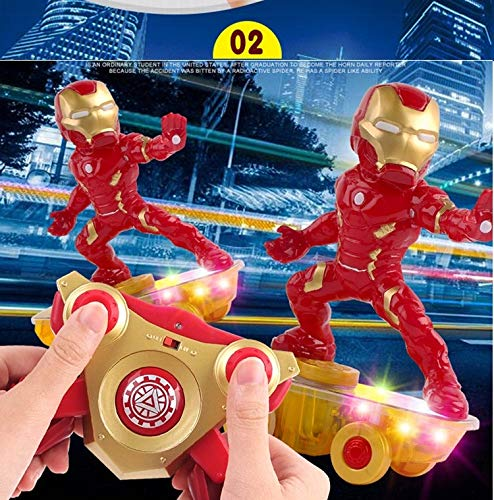 MODELTRONIC Coche RC superhéroes Patinete RC de Iron Man ...