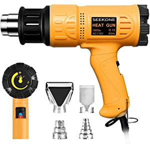 Remove Paint with Heat Gun SEEKONE
