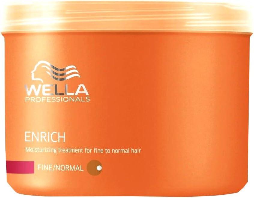 Wella Enrich Mask Fine/Normal Hair Mascarilla - 500 ml