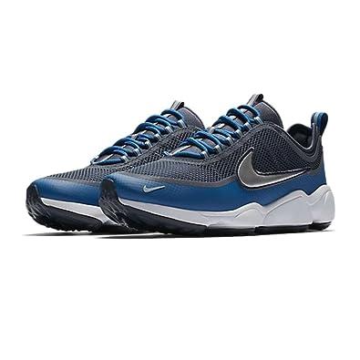 NIKE Zoom Spiridon - Armory Blue Metallic Platinum-UK 10   EU 45   Amazon.co.uk  Shoes   Bags 79fdc1d6eef1