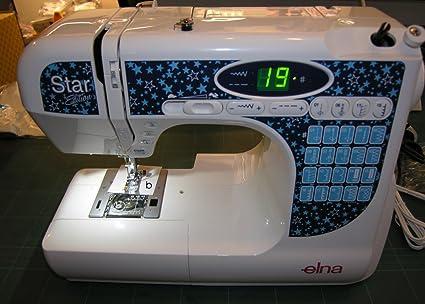 Máquina de coser Elna Star Edition – Brazo Libre – Enhebrador – LED – Aguja soportada