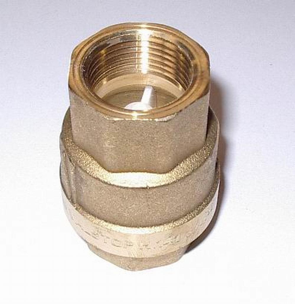 3/4' Brass Check Valve Valstop 32021