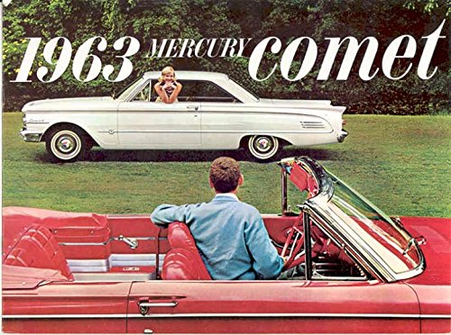 1963 Mercury Comet Sales Brochure