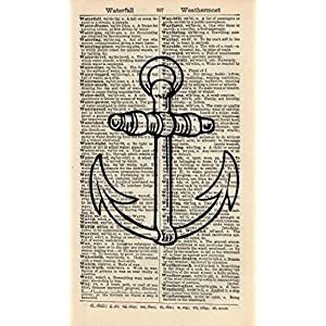 61kEmKnRAUL._SS300_ Anchor Decor & Nautical Anchor Decorations