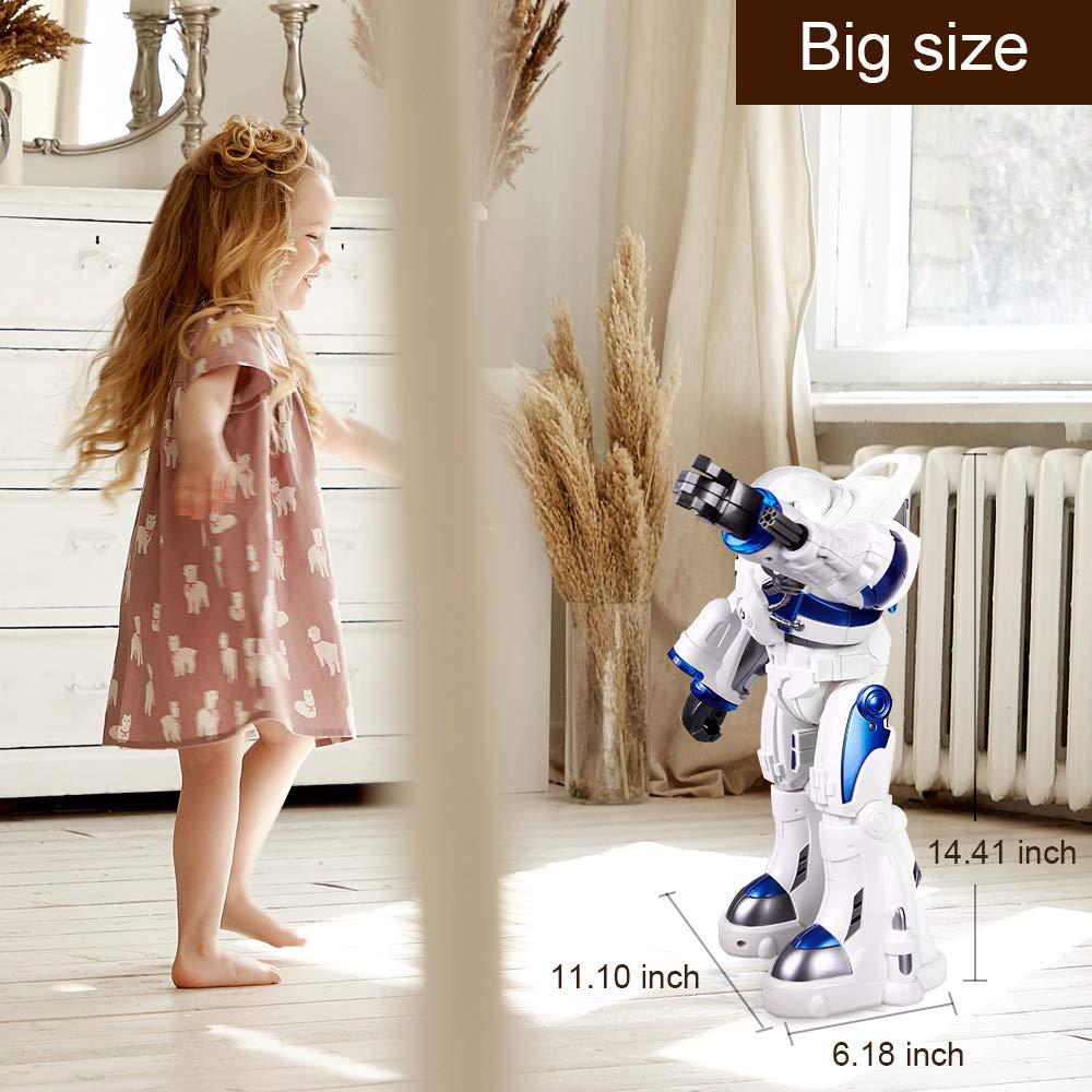 KINGBOT Robot Toy,Spaceman RC Robot Remote Control Robots Toys with Programmable Interactive Walking Singing Dancing for Kids Boys Girls Gifts by KINGBOT (Image #7)