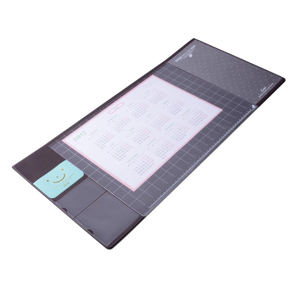 tappetino da scrivania Befitery mouse pad sottomano multifunzione tappetino creativo da scrivania per mouse e computer laptop marrone