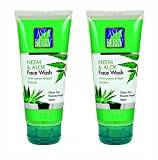 Astaberry Neem and AOE Face Wash( 100 ml)-With Lemon & Basil Extracts Pack of 2
