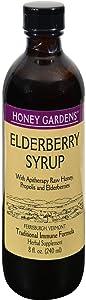 Honey Gardens Apiaries: Elderberry Syrup, 8 Ounces