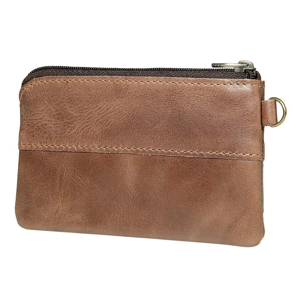 Men Fashion Money Clip Leather Wallet Purse Coin Money Pouch Cases Bag N7