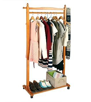 FFF-Coat rack Perchero Secado Percha Percha Se Puede Mover ...