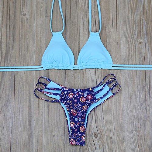 Bagno Estate L'alto m Di Femminili Della Bikini Stampa Brasiliano Sky Vazan Verso Swimwear Blue Delle Costumi Spiaggia Donne Da Spingono Biquini Fasciatura Sexy Costume Del 8B4wPT