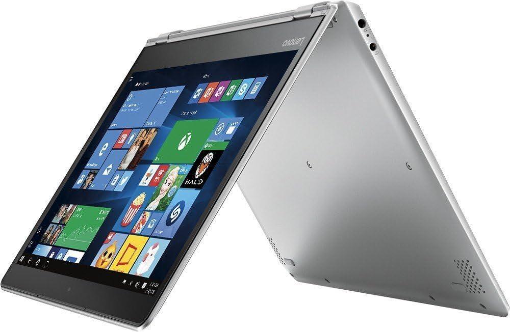 "2017 Lenovo Yoga 710 2-In-1 11.6"" Full HD IPS Touchscreen Convertible Laptop, Intel Pentium Dual-Core Processor, 4GB RAM, 128GB SSD, Bluetooth, WIFI, Webcam, Intel HD Graphics 515, No DVD, Windows 10"