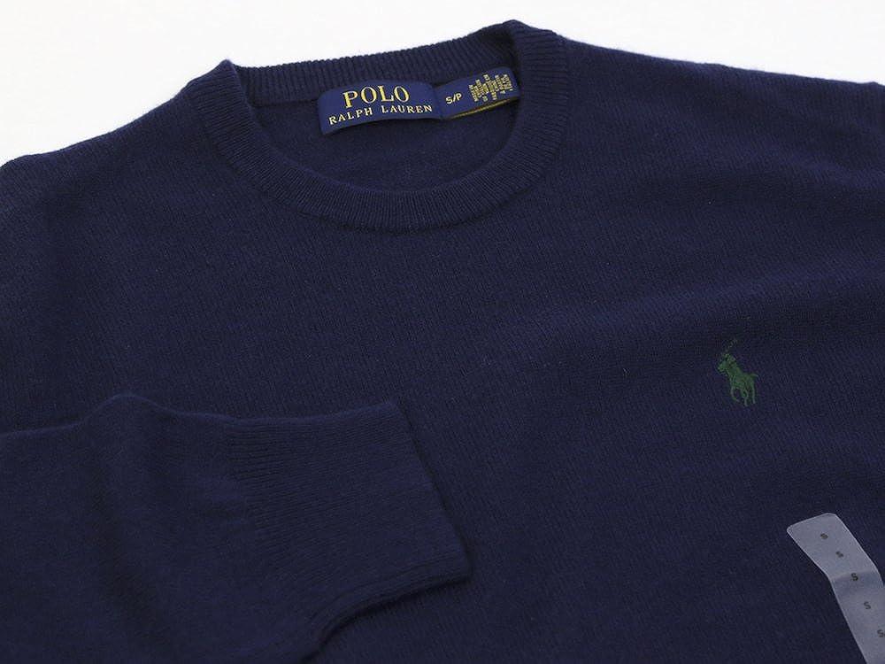 Polo Ralph Lauren Mens Crew-Neck Wool Pony Logo Sweater: Amazon.es ...