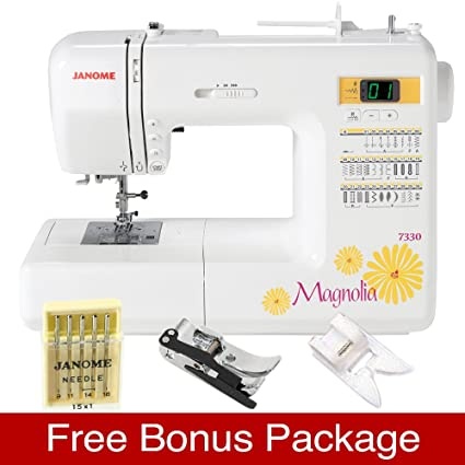 Amazon Janome 40 Magnolia Computerized Sewing Machine With 40 Extraordinary Janome Magnolia 7330 Sewing Machine