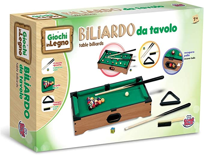 Grandi Giochi - Mini Mesa de Billar (GG95010): Amazon.es: Juguetes ...