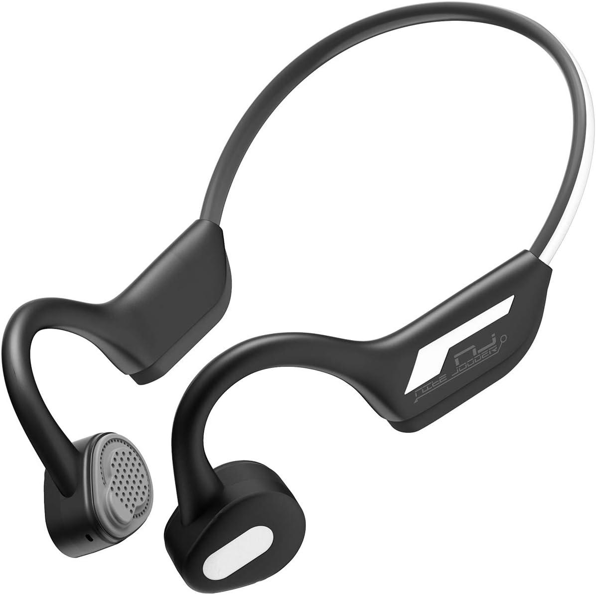 Auriculares Bluetooth 5.0 con conducción ósea y Bluetooth, inalámbricos, deportivos, estéreo, a prueba de sudor, con micrófono para deportes compatible con iOS Android (Versión luminosa): Amazon.es: Salud y cuidado personal