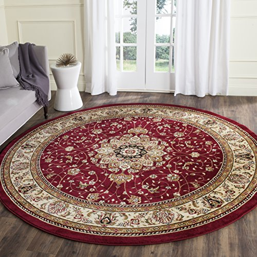 Safavieh Lyndhurst Collection LNH329C Traditional Oriental Non-Shedding Stain Resistant Living Room Bedroom Area Rug, 8…