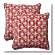 Pillow Perfect Zinger Corded Throw Pillow
