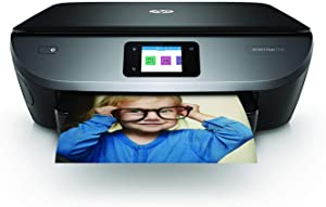 HP Envy Photo 7130 – Impresora multifunción inalámbrica (Tinta, Wi-Fi, copiar, escanear, impresión a Doble Cara, 1200 x 1200 PPP, Incluido 4 Meses de HP Instant Ink) Color Negro