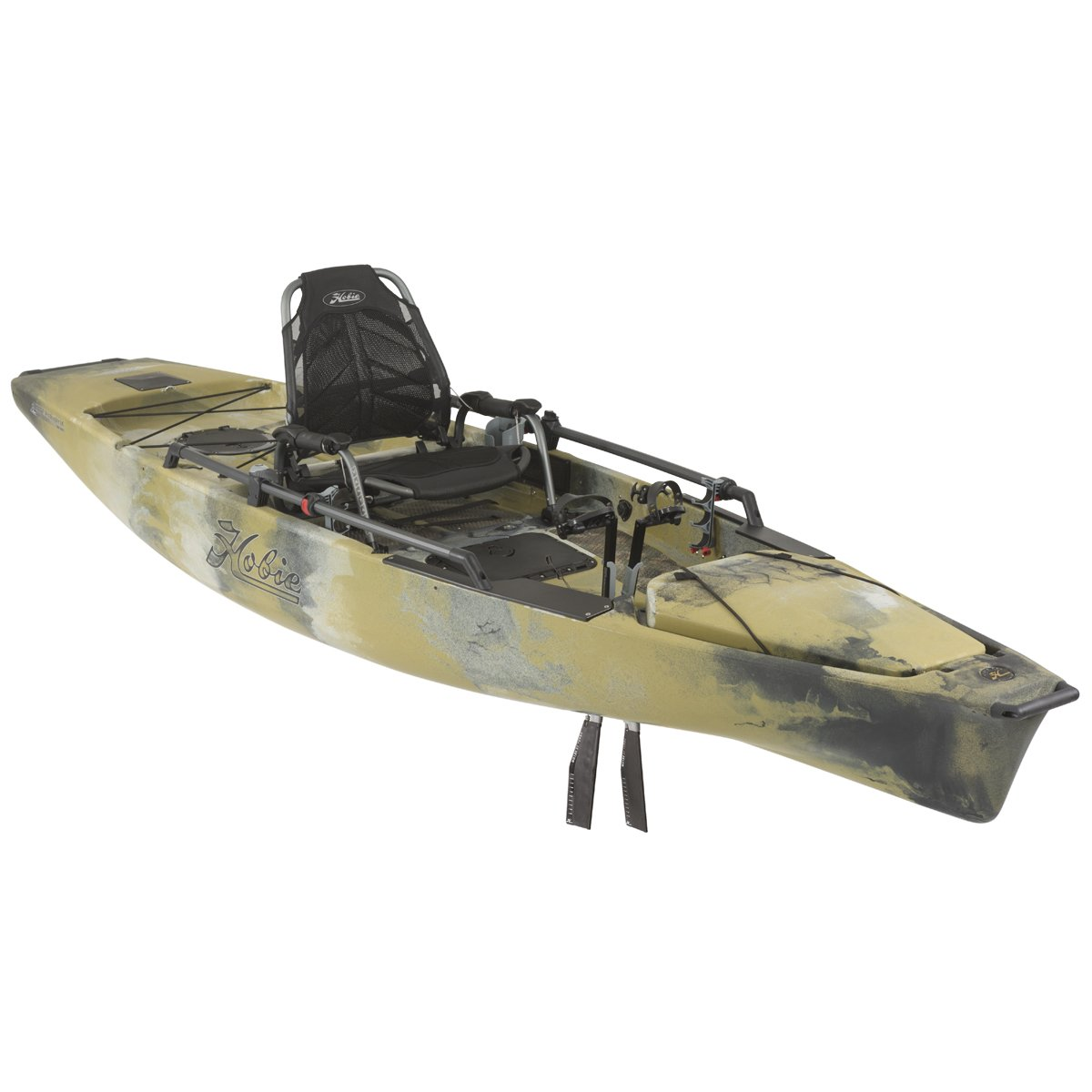 Amazon.com: Hobie Mirage 180 Pro Angler 14 Kayak Camo ...