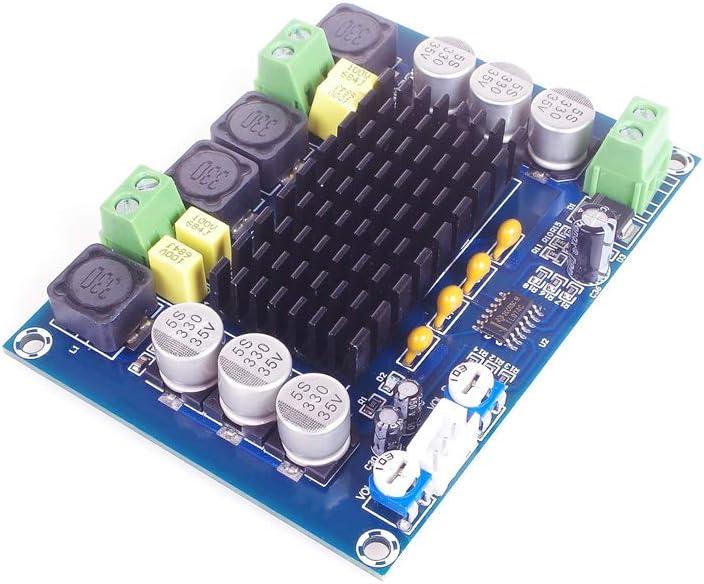 ANGEEK TPA3116D2 Dual-Channel Stereo High Power Digital Audio Power Amplifier Board 2*120W XH-M543