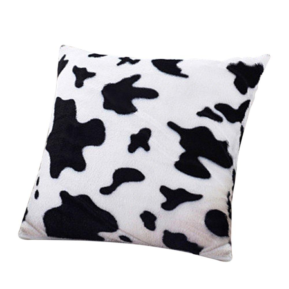 Funda de Almohada de Piel vaca
