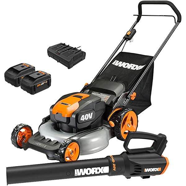 Amazon.com: WORX WG751 40V Power Share 5.0 Ah 20