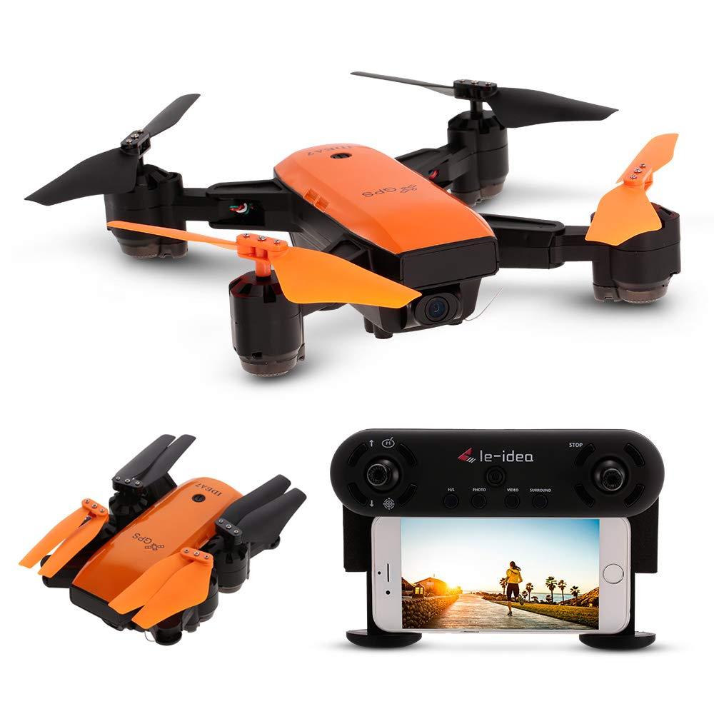 Goolsky IDEA7 720P Weitwinkel Kamera Wifi FPV GPS Drohne Höhe Halten Faltbare RC Quadrocopter