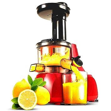 Exprimidor Fruta Casera De Baja Velocidad, Multifunción, Separación Automática De Residuos De Jugo, Máquina De Jugo De Frutas Y Vegetales Fritos Pequeños: ...