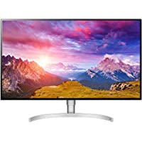"LG 32UL950-W Class UltraFine 4K Ultra HD LED Monitor with Thunderbolt 3, 32"", 3840 x 2160 pixel, Silver"