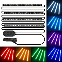 MINGER 72 LEDs Car LED Light Strip Deals
