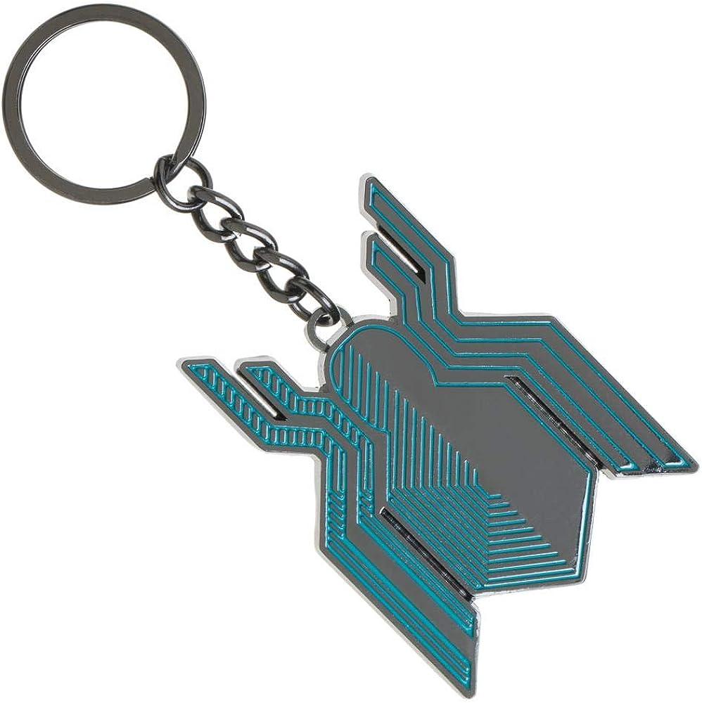 Far From Home Spiderman Keychain Stealth Symbol Superhero Keyring