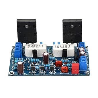 Amazon com: 100W 2SC5200+2SA1943 Audio Amplifier Board HiFi
