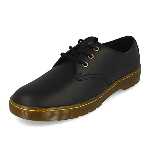 Black Dr Vegan Coronado 44 Shoes martens Mens 3 Eu Eyelet Synthetic SYwqYrfE