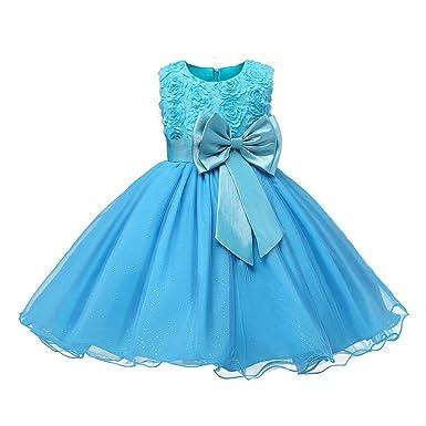 Highdas Kinder Mädchen Highdas Abendkleid Hochzeit Party Kleid ...