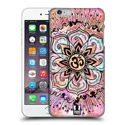Head Case Designs Rosa Farbspritzer Om Zeichen Snap-on Schutzhülle Back Case für Apple iPhone 6 Plus 5.5
