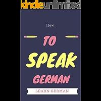 How to speak German