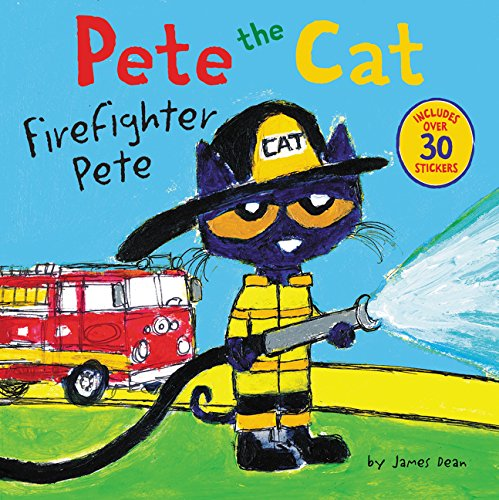 Cute Halloween Cat Names (Pete the Cat: Firefighter)