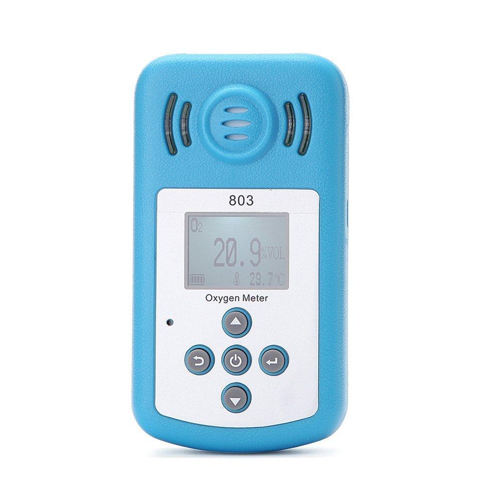 Detector de gas portátil detector de oxígeno, con alarma de sonido
