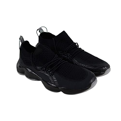 Reebok DMX Fusion Pi Mens Black Textile Athletic Lace Up Training Shoes