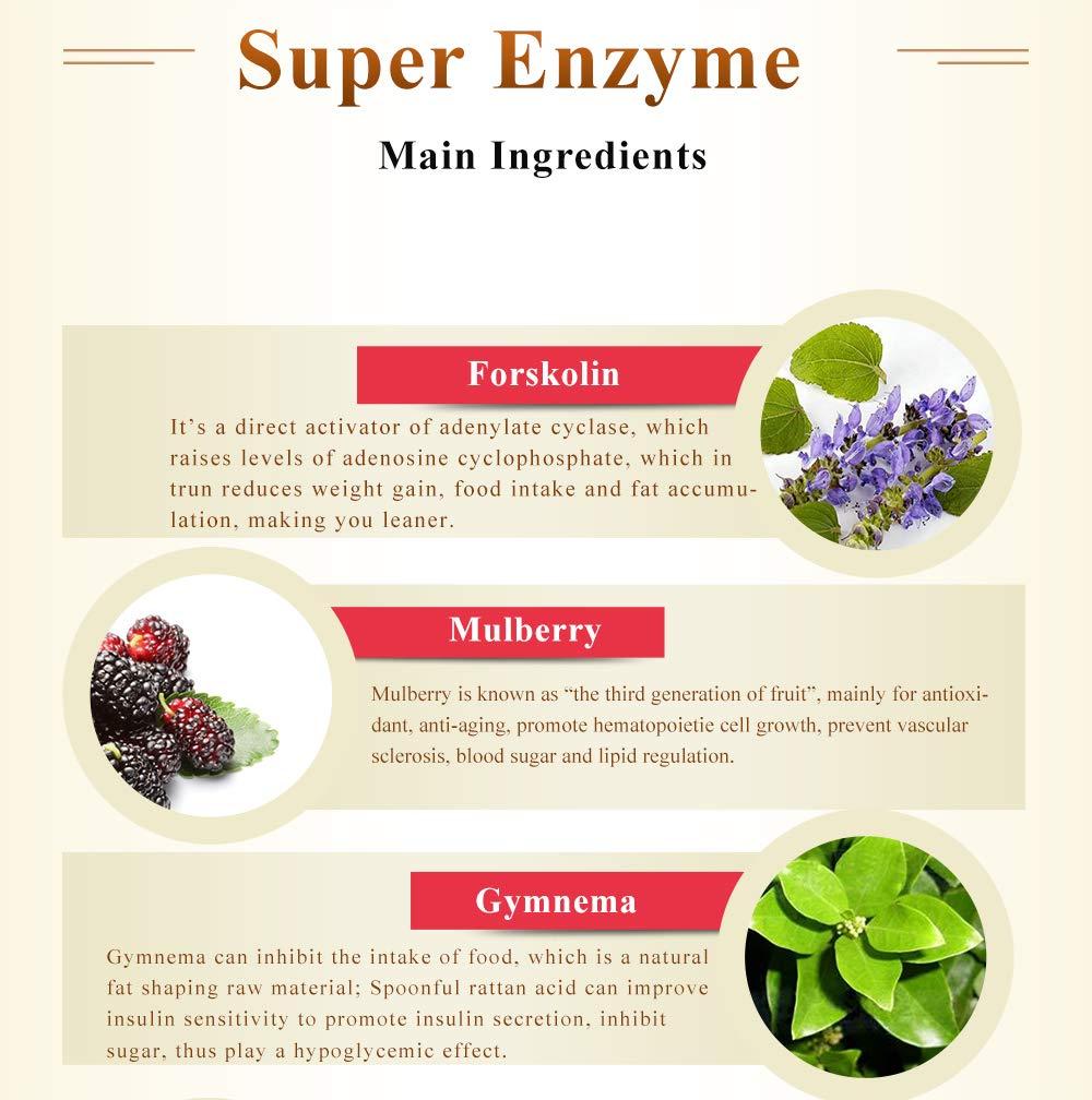 ISDG Gold Enzyme. Súper Enzima Para Quemar Grasa y Perder ...