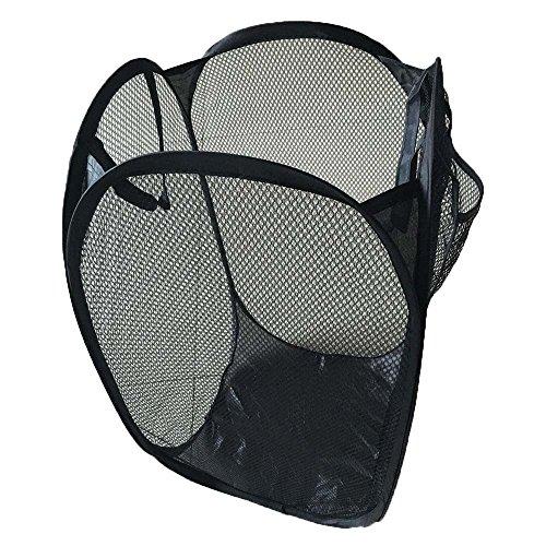 ♛Euone Storage Bag ♛Clearance♛, Foldable Pop Up Washing Laundry Basket Bag Hamper Mesh Storage