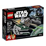 LEGO Star Wars Yoda s Jedi Starfighter 75168 Building Kit 262 Pieces