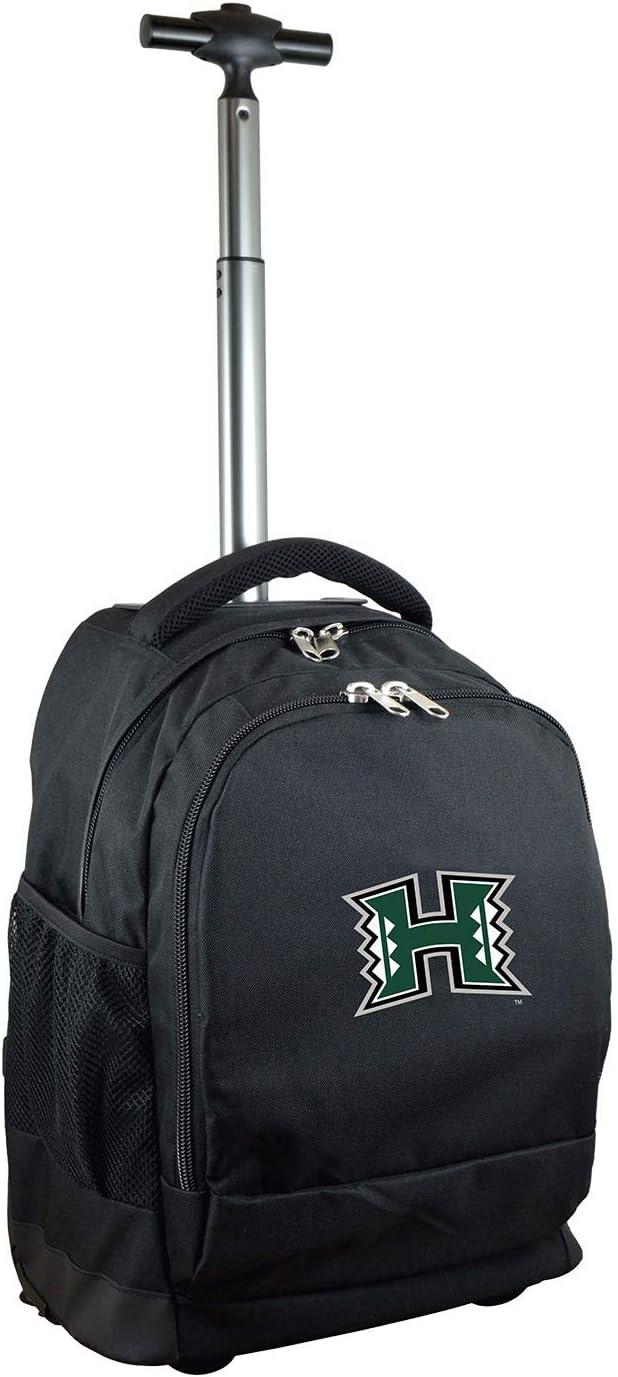 Black 19-inches NCAA Wheeled Backpack