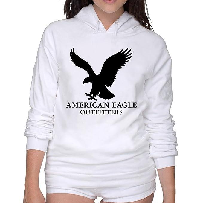 American Eagle Outfitters Logo sudadera con capucha de la mujer: Amazon.es: Ropa y accesorios
