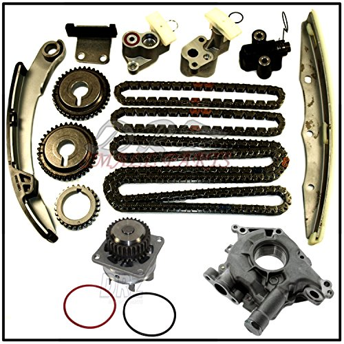 (Timing Chain Kit Water & Oil Pump For Nissan Infiniti 3.5L VQ35DE Altima Maxima )